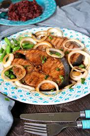 fish cuisine fish steak mackerel tanigue style