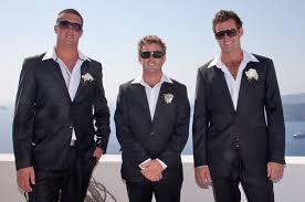wedding attire mens mens wedding attire santorini weddings