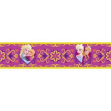 Bedroom Wallpaper Borders Disney Frozen Wallpaper Borders Stickers Brand New Official