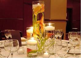 Wedding Centerpieces Floating Candles And Flowers by Submerged Calla Lily Centerpiece Wedding Black Calla Lily