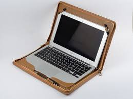 macbook pro case khaki leather business cover for apple mac pro 13 inch for carrying