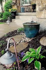 diy backyard fountain ideas home outdoor decoration