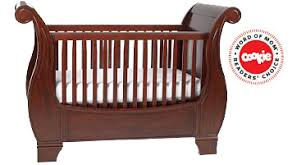 Sleigh Bed Crib Pottery Barn Larkin Sleigh Crib Mamalaide