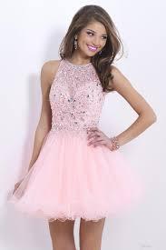 light pink dama dresses prom dresses dresses short tulle a line sequins prom dresses modest