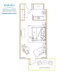 Tara Floor Plan by Aruba Romantic Resort U0026 Hotel Bucuti U0026 Tara Beach Resort