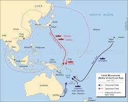 Sea Of Japan Map Pacific World War 2 Weetjes