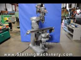 9 x 48 used bridgeport vertical milling machine for sale