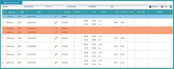 Tracking Spreadsheet Template Excel Sle Attendance Tracking Blank Attendance Sheets Class