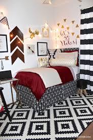 Chevron Bedding Queen Bedding Set Dramatic Black White And Gold Chevron Bedding