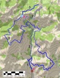 Santa Barbara Map Romero Canyon In Santa Barbara Trail Map And Descriptions