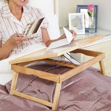 bamboo bed tray with folding legs low prices