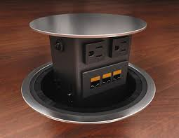 conference table power outlets pop up electrical outlet kmworldblog com