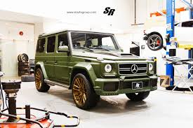 mercedes g wagon green military green brabus g63 amg on adv1 wheels by sr auto group
