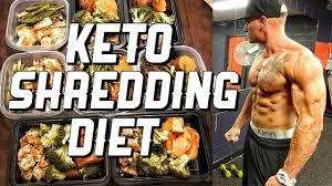 keto shredding diet meal by meal full meal plan youtube