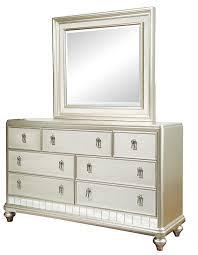 samuel 7 drawer dresser mirror set royal
