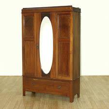 Mirror Armoire Wardrobe Original Traditional Antique Armoires U0026 Wardrobes Ebay