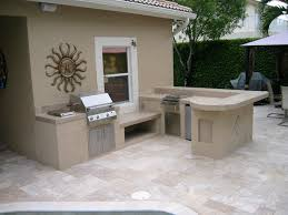 outdoor kitchen island large custom outdoor kitchen with tile and stucco with infrared
