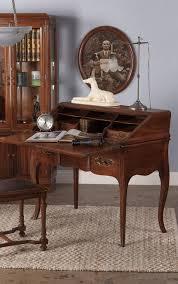 brass key secretary desk louis style walnut drop front secretaire desk 1920s at 1stdibs