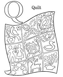 Alphabet Coloring Pages Letter Q Free Printable Farm Abc Coloring Pages Q