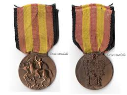 italy ww2 civil war medal italian type a 1936