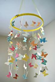 Changing Table Mobile Butterfly Mobile Beautiful And Simple To Make Craft It