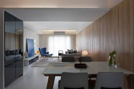 Minimalist Apartment Design With Asian Style Decoration RooHome - Minimalist apartment design