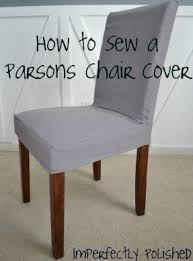Cover For Dining Chairs Fabric Parsons Dining Chairs Foter