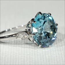 blue zircon rings images Vintage blue zircon and diamond ring in platinum c 1925 ruby jpg