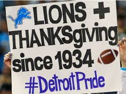lions cowboys and a feast it s a thanksgiving day thing