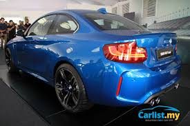 bmw car price in malaysia 2016 bmw m2 launched in malaysia priced from rm499k auto