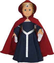 arts and crafts for your american doll medieval cape for