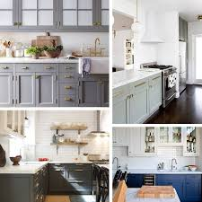 what color hardware for navy cabinets kitchen trend painted cabinets and brass hardware