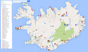 Iceland Map World Vettas In Iceland