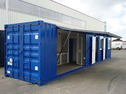 bureau container container 40 pieds bureau atelier aménagé klozet