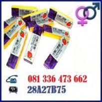 jual permen karet cinta chewing gum surabaya 081336473662 obat