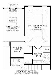 Master Suite Floor Plan Regency At Prospect The Clearbrooke Home Design