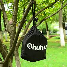 ohuhu 2 pcs hammock tree straps suspension system with carabiners