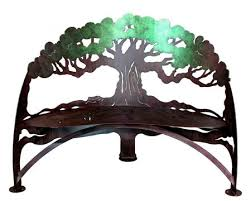Steel Garden Bench Steel Garden Furniture Horse Bench Hummingbird Bench