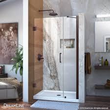 Infold Shower Doors 40 Inch Frameless Shower Door