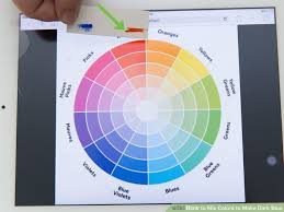 3 ways to blend acrylic paint wikihow 3 ways to mix colors to blue wikihow within how to