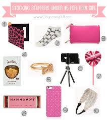 10 stocking stuffer ideas for teen girls for 5 or less stocking
