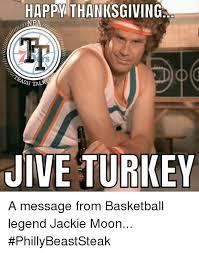Jive Turkey Meme - happy thanksgiving inba sh talk jive turkey a message from