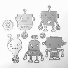 aliexpress com buy new robot story scrapbook diy album card