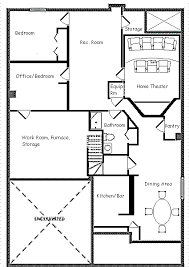 basement layouts basement framing design layout part 1 of 2