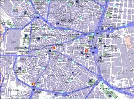 Madrid Spain Map Spain U003e Madrid U003e Map Center Index