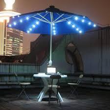 Led Solar Powered Umbrella Light Led Solar Umbrella Led Solar