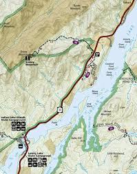 Island Lake State Park Map by Lewey Lake Campground