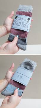 gifts to give your on wedding day learn how to make an adorable groom cold socks gift
