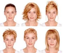 hairstyles you put your face in ideal hairstyle for various face shape mode et style de vie