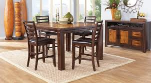 maysville counter height dining room table dining room counter height casual dining room sets rooms to go